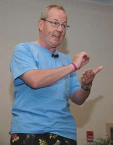 Chicago Humorous Motivational Speaker Cancer Oncology