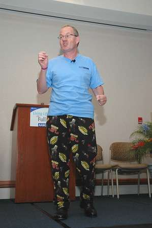 Humorous Motivational Cancer Survivor Speaker