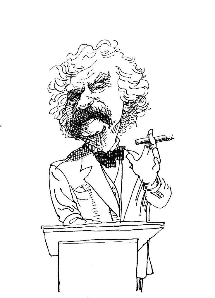 Chicago motivational speaker on Mark Twain