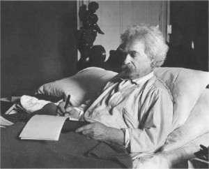 Twain in bed II