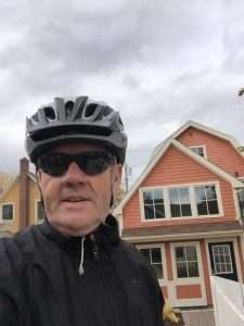 The cycling Inspirational Funny Motivational Speaker for Nurses Week and Nurse Leadership